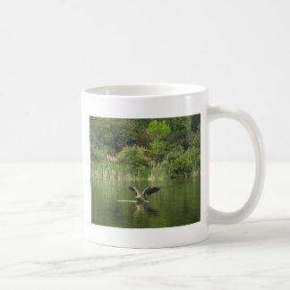 Goose on Lake Ralphine Coffee Mug