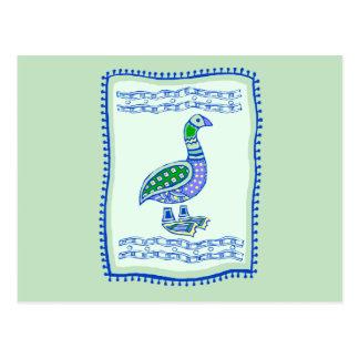 Goose Quilt Postcard