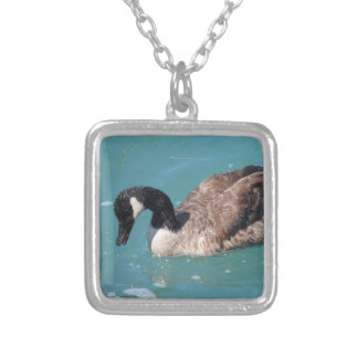 Goose Silver Plated Necklace