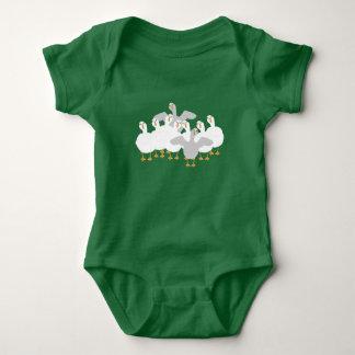 Goose Who Baby Bodysuit