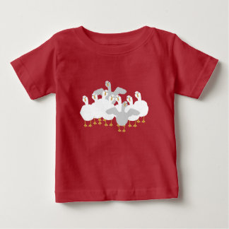 Goose Who Baby Tshirt