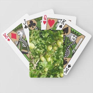 Gooseberry Fruit On Bush Deck Of Cards