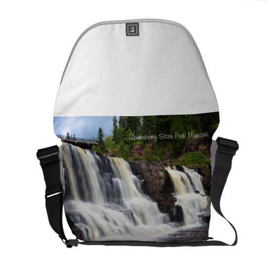 Gooseberry State Park Waterfalls Courier Bags