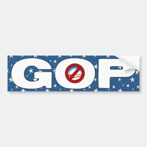 GOP - Anti Barack Obama Bumper Stickers