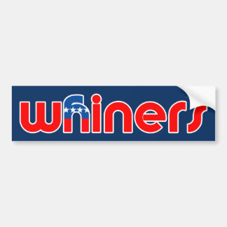 GOP Are Whiners Bumper Sticker