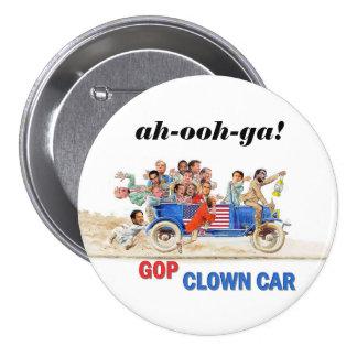 GOP Clown Car 3 Inch Round Button