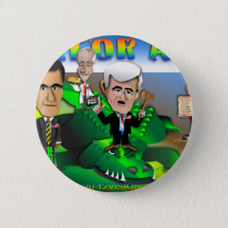 GOP Gator Aid 2 Inch Round Button