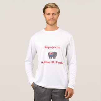 GOP Gullible Old People Satire Shirt