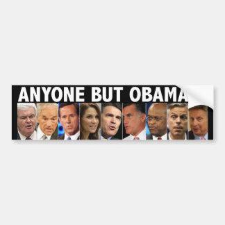GOP Nine - 2012 Republican Primary Election Bumper Sticker