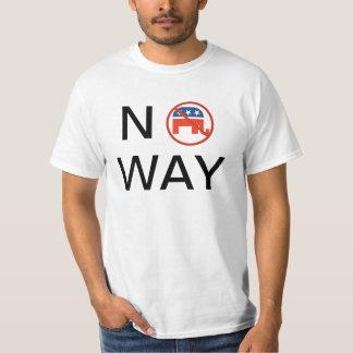 GOP? No Way! T-Shirt