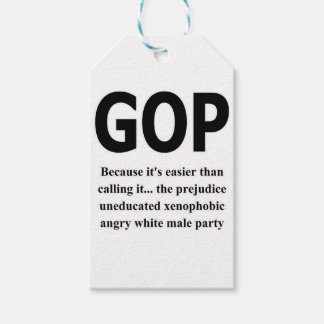 GOP# PACK OF GIFT TAGS