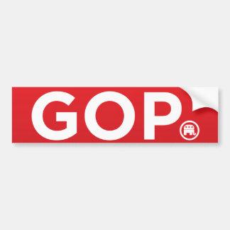 GOP Republican Logo Bumper Sticker