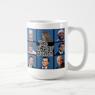 GOP - The Shady Bunch - Paul Romney Palin Bachmann Basic White Mug