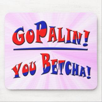 GOPALIN! - You Betcha! Mouse Pad