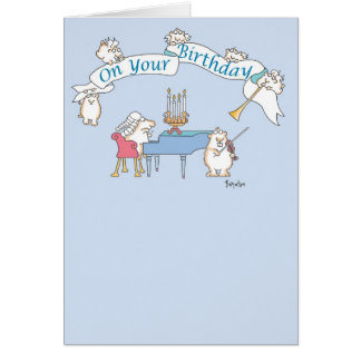 GOPHER BAROQUE Birthday Greeting Card