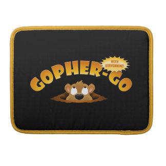 Gopher-Go MacBook Pro Sleeve