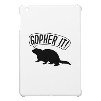 Gopher It Cover For The iPad Mini