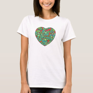 Gopher Purge Heart T-Shirt