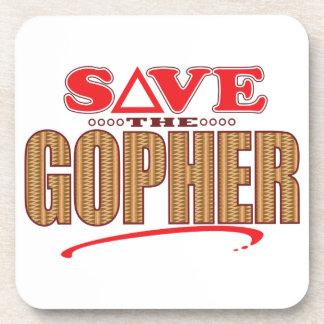 Gopher Save Coaster