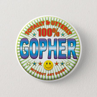 Gopher totalement macaron rond 5 cm