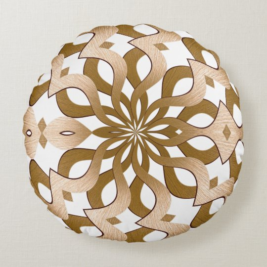 Gordian Swell Round Pillow