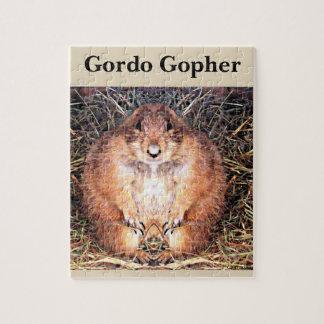 Gordo The Happy Gopher Game Puzzle
