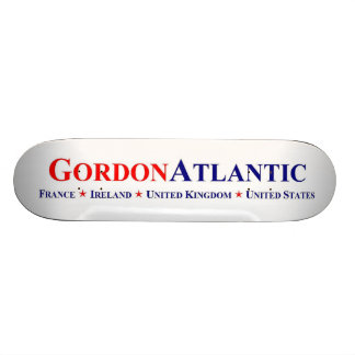 Gordon Atlantic Trans-Atlantic Logo Skateboard