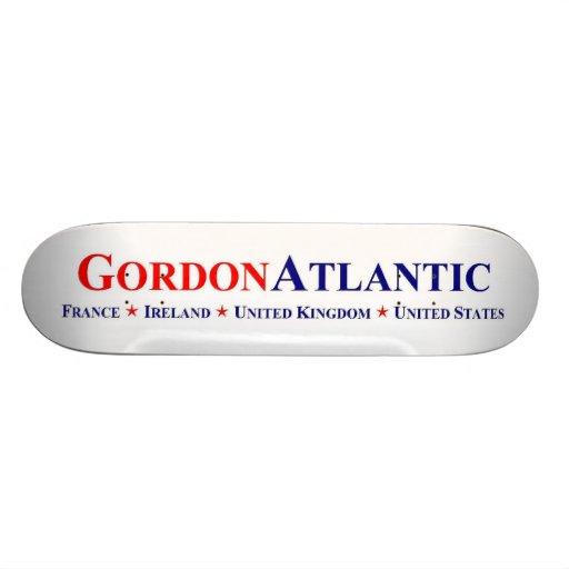 Gordon Atlantic Trans-Atlantic Logo Skateboard