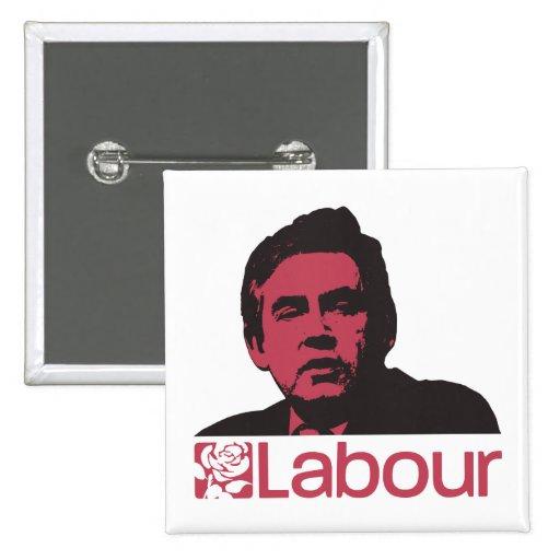 Gordon Brown for Prime Minister Pins