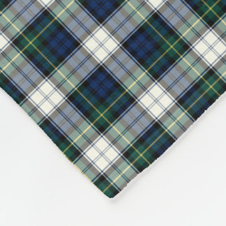 Gordon Clan Blue and White Formal Dress Tartan Fleece Blanket