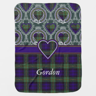 Gordon clan Plaid Scottish tartan Baby Blanket