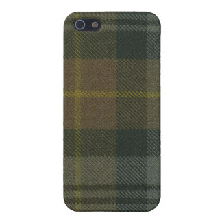 Gordon Clan Weathered Tartan iPhone 4 Case