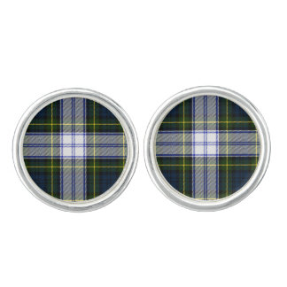 Gordon Dress Plaid Cuff Links