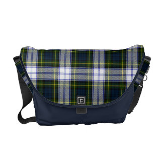 Gordon Dress Tartan Plaid Messenger Bag