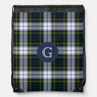 Gordon Dress Tartan Plaid Monogram Backpack
