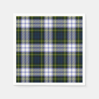 Gordon Dress Tartan Plaid Paper Napkins