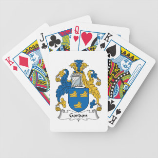 Gordon Family Crest Bicycle Playing Cards