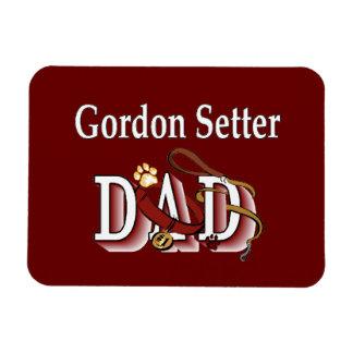Gordon Setter Dad Rectangular Photo Magnet