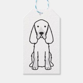 Gordon Setter Dog Cartoon Pack Of Gift Tags