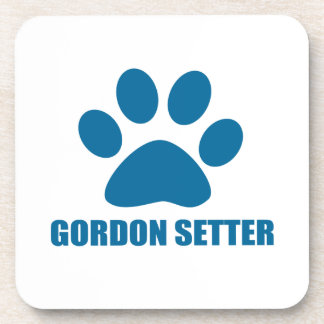 GORDON SETTER DOG DESIGNS COASTER