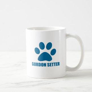 GORDON SETTER DOG DESIGNS COFFEE MUG