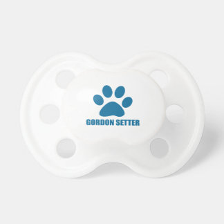 GORDON SETTER DOG DESIGNS PACIFIER