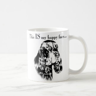 Gordon Setter Happy Face Coffee Mug