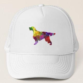 Gordon Setter in watercolor 2 Trucker Hat