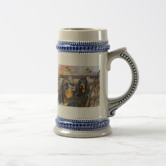 Gordon Setter On A Hunt gifts Beer Stein