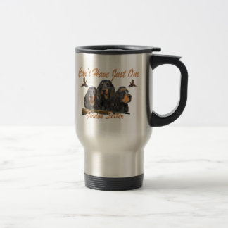 Gordon Setter Pheasant Hunting Travel Mug