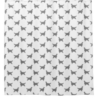 Gordon Setter Silhouettes Pattern