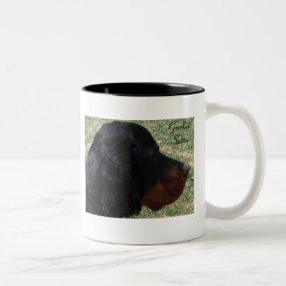 Gordon Setter Two-toned Ceramic Mug