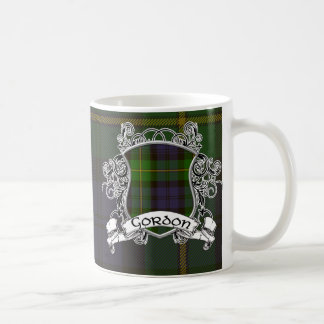 Gordon Tartan Shield Coffee Mug