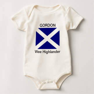Gordon Wee highlander Baby Bodysuit